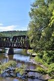 Cidade de Montpelier, Washington County, Vermont, Estados Unidos, capital de estado Imagem de Stock Royalty Free