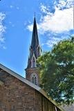 Cidade de Montpelier, Washington County, Vermont Nova Inglaterra Estados Unidos, capital de estado Imagens de Stock Royalty Free