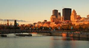 Cidade de Montreal Fotografia de Stock