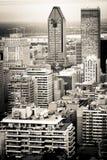Cidade de Montreal Foto de Stock Royalty Free