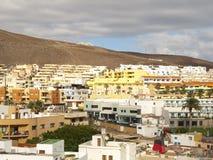 Cidade de Morro Jable Imagem de Stock