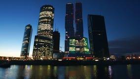 Cidade de Moscou video estoque
