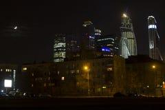Cidade de Moscou da paisagem, Moscou, Rússia Fotos de Stock Royalty Free
