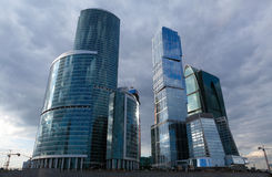 Cidade de Moscovo Foto de Stock Royalty Free