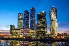 Cidade de Moscovo Fotografia de Stock