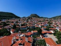 Cidade de Mugla em Turquia fotos de stock