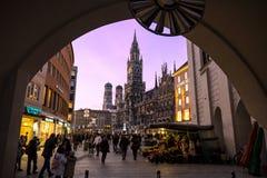 Cidade de Munich, Alemanha foto de stock royalty free