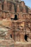 Cidade de Nabatean de PETRA em Jordânia Fotografia de Stock Royalty Free