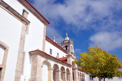 Cidade de Nazare, Portugal Fotografia de Stock Royalty Free