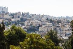 A cidade de Nazareth israel Imagens de Stock