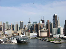A cidade de New York Fotos de Stock Royalty Free