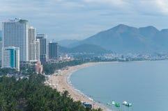 Cidade de Nha Trang, Vietname Fotos de Stock