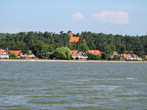 Cidade de Nida, Lituânia Imagens de Stock Royalty Free