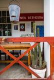 A cidade de Nieu Bethesda imagens de stock royalty free