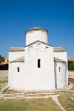 Cidade de Nin - igreja da cruz de Saint Fotografia de Stock