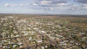 Cidade de Novo Gales do Sul de Cobar fotografia de stock