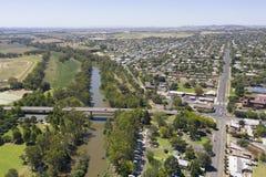 Cidade de Novo Gales do Sul de Cowra imagens de stock royalty free