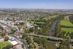 Cidade de Novo Gales do Sul de Cowra foto de stock