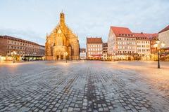 Cidade de Nurnberg em Alemanha imagens de stock