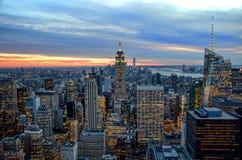 Cidade de NY Imagem de Stock