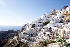 Cidade de Oia, Santorini Imagens de Stock