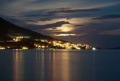 Cidade de Omis imagem de stock royalty free