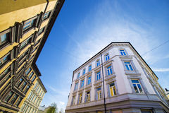 Cidade de Oslo que constrói 12 Imagem de Stock