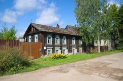 Cidade de Ostashkov, região de Tver, Rússia Imagens de Stock Royalty Free