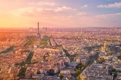 Cidade de Paris foto de stock royalty free