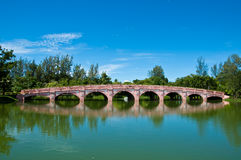 A cidade de Park@Phuket para relaxa e airobic Foto de Stock Royalty Free