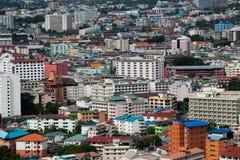 Cidade de Pattaya do panorama Imagem de Stock Royalty Free