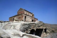 Cidade de pedra, Upliscikhe Foto de Stock Royalty Free