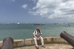 Cidade de pedra, Zanzibar fotografia de stock