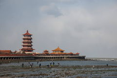 Cidade de Penglai, província de Shandong, cidade de Penglai foto de stock royalty free