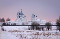 Cidade de Pereslavl-Zalessky Monastério de Nikitsky Um de mais velho em Rússia foto de stock