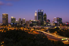 Cidade de Perth Imagens de Stock Royalty Free