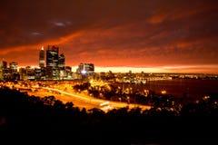 Cidade de Perth Fotos de Stock Royalty Free