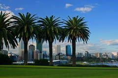 A cidade de Perth, Austrália Ocidental Fotografia de Stock Royalty Free