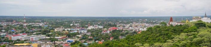 Cidade de Phetchaburi o 27 de junho de 2015 Foto de Stock