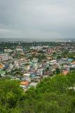 Cidade de Phetchaburi o 27 de junho de 2015 Imagens de Stock Royalty Free