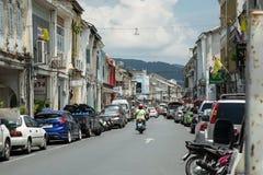 Cidade de Phuket fotografia de stock royalty free