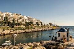 A cidade de Piraeus imagem de stock royalty free