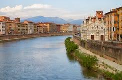 Cidade de Pisa. Fotos de Stock