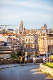 Cidade de Porto em Portugal foto de stock royalty free