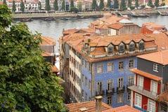 A cidade de Porto em Prtogallo Fotografia de Stock