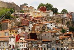 A cidade de Porto em Prtogallo Fotografia de Stock Royalty Free