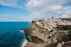 Cidade de Portugal Oceano Atlântico Foto de Stock