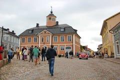 A cidade de Porvoo foto de stock royalty free