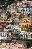 Cidade de Positano, Amalfi Fotografia de Stock Royalty Free