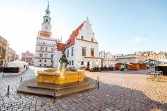 Cidade de Poznan em Krakow imagem de stock